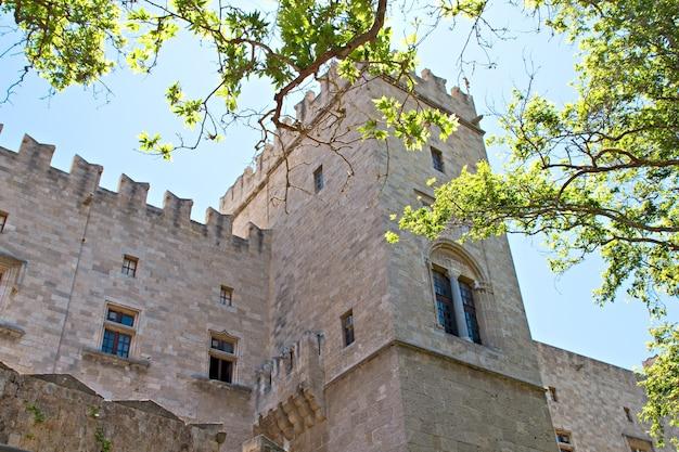 ロードス島ギリシャの騎士の城