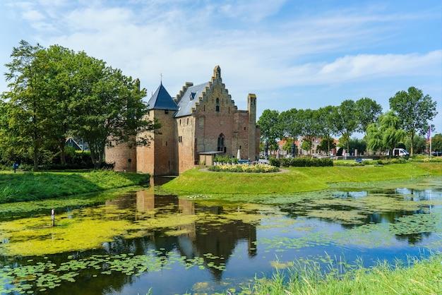 Castle radboud at medemblik