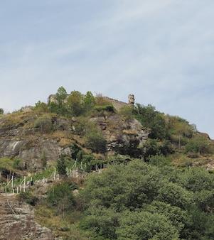 ポンサンマルタンの城跡