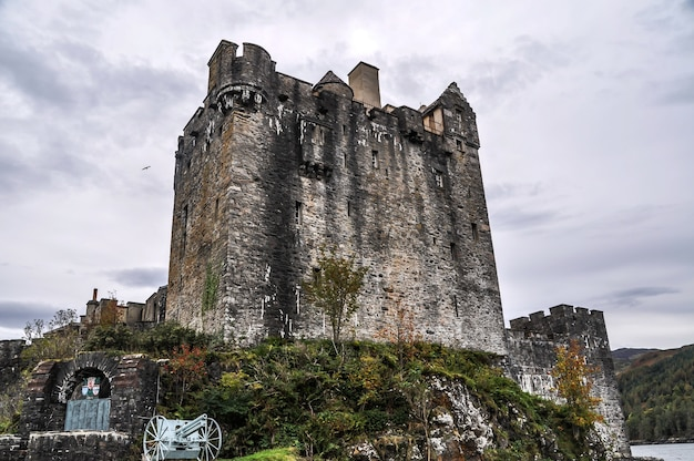 Замок шотландия мост остров