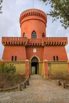 Castle in villa pallavicini