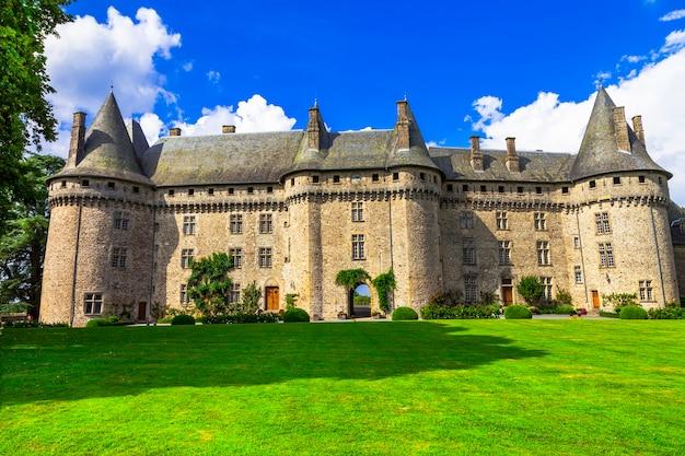 Castles of france -chateau of madame de pompadour