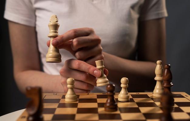 チェスのキャスリング
