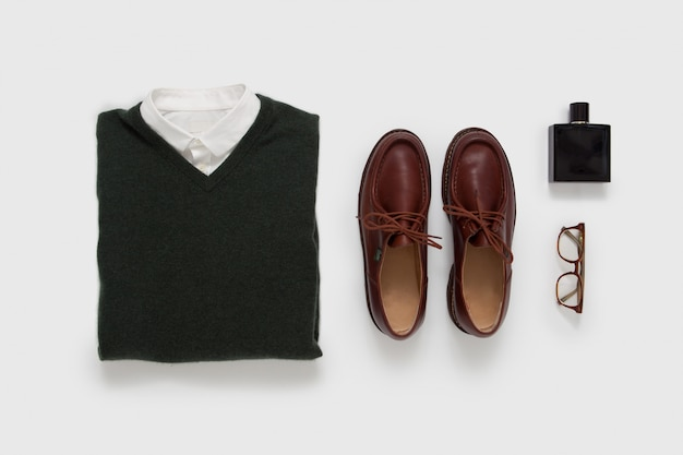 Casual male outfit