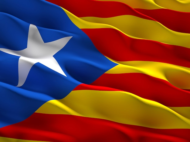 Catalan separatist flag