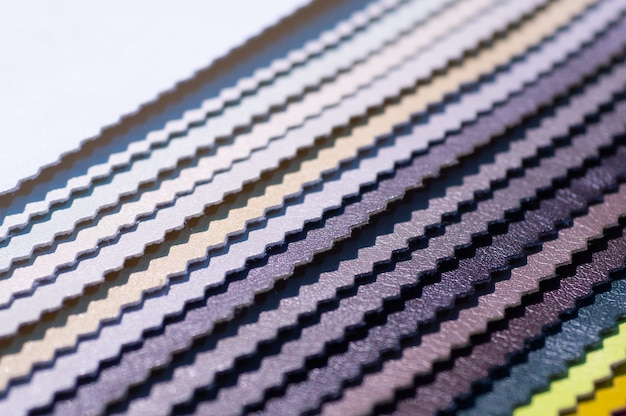 Каталог разноцветной искусственной кожи