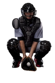 Catcher baseball player,.