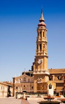 Catedral de la seo (san salvador) in zaragoza