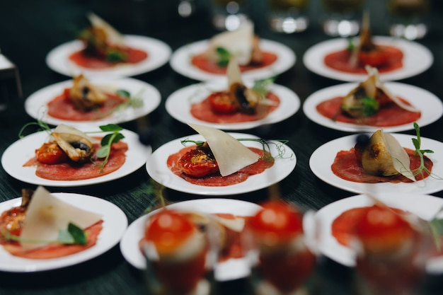 Catering food for parties