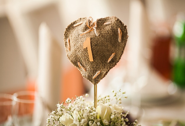 Catering in restaurant, wedding banquet