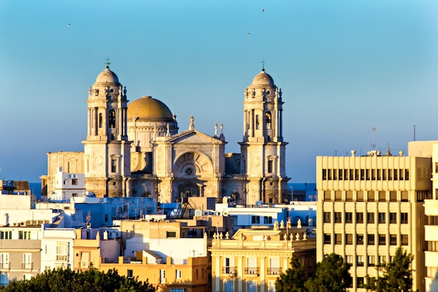 Cathedral of cadiz spain
