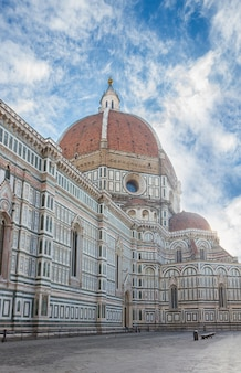 Cathedral church santa maria del fiore at day, florence, italy