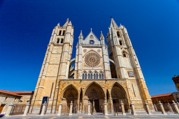 Cathedral of leon, spain
