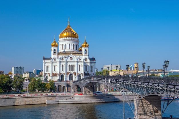 Храм христа спасителя в москве, россия