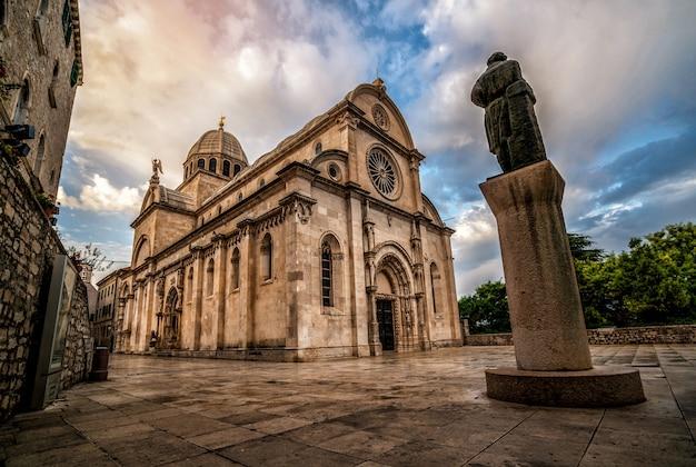クロアチア、シベニクの聖ヤコブ大聖堂。