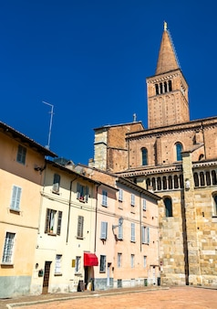 Cathedral of piacenza in emilia-romagna, northern italy
