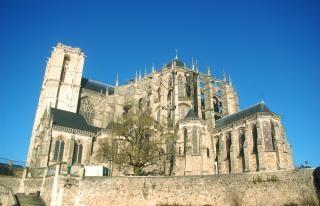 Cathedral saint julien du mans