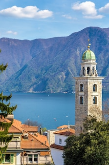 The cathedral of saint lawrence in lugano switzerland