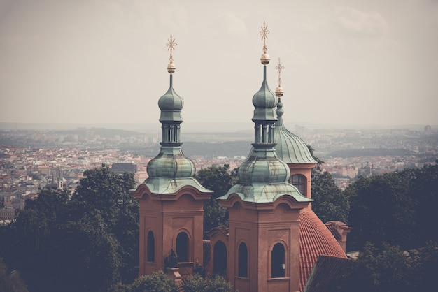 Cathedral of saint lawrence. prague, czech republic