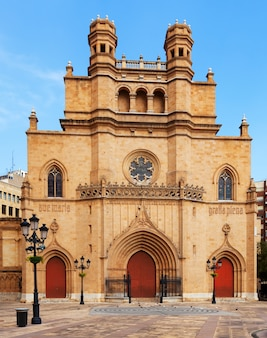 Cathedral of saint mary. castellon de la plana