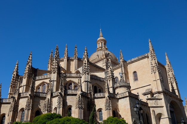 Cathedral of segovia,spain