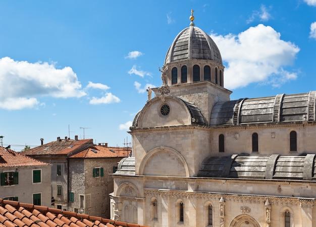 Cathedral of st. james in sibenik, croatia. unesco world heritage site