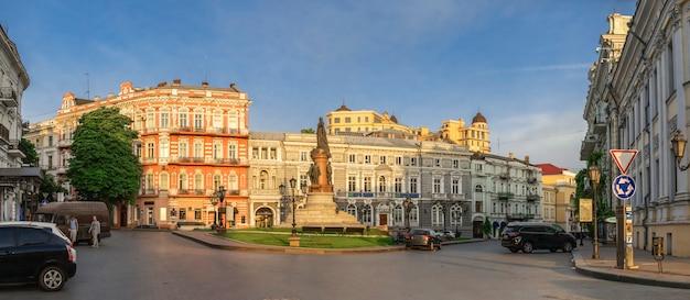 Екатерининская площадь и отель париж в одессе