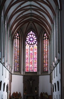 Catholic cathedral, prague, travel picture