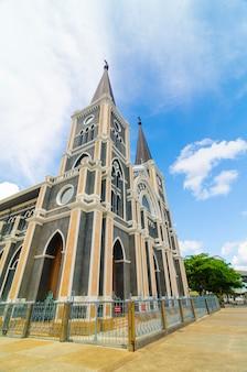 Католическая церковь в провинции чантабури, таиланд.