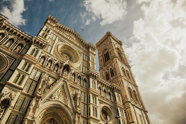 The cattedrale di santa maria del fiore (cathedral of saint mary of the flower) is the main church of florence, italy.