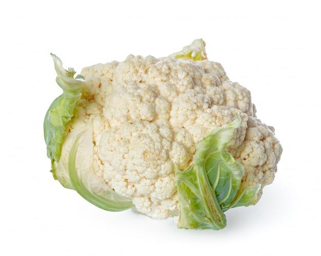 Cauliflower isolated