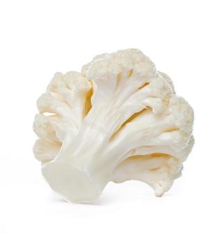 Cauliflower. piece isolated.