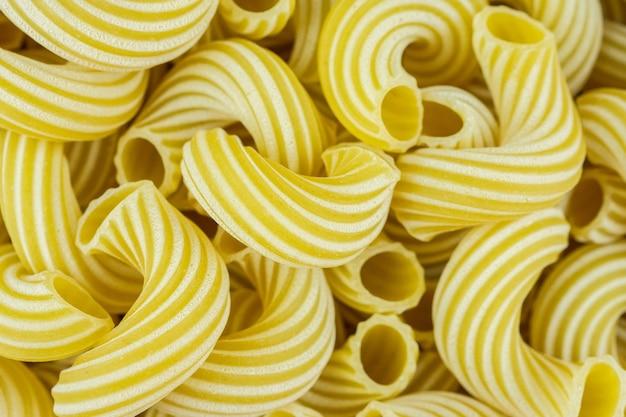 Cavatappi pasta background