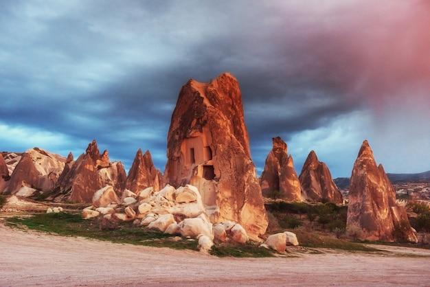 Пещерный город в каппадокии турция