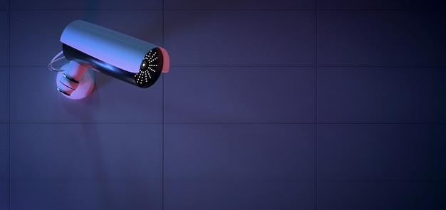 セキュリティcctvカメラシステム -  3 dレンダリング