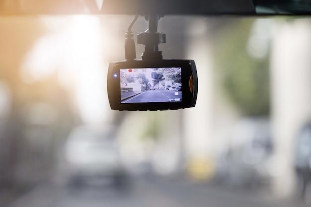 車内のcctv車の記録カメラ