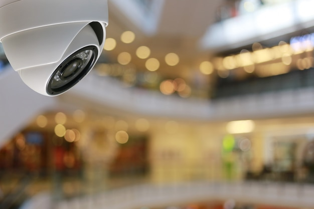 Cctv tool in shopping mall equipment for security systems.