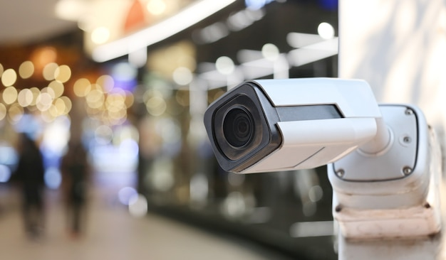 Cctv tool in shopping mall equipment for security systems