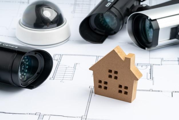 Cctv охранная онлайн камера с планом дома