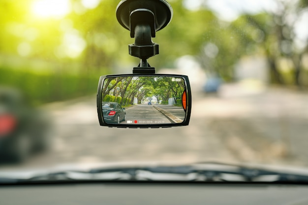 交通事故の安全のためのcctvカーカメラ