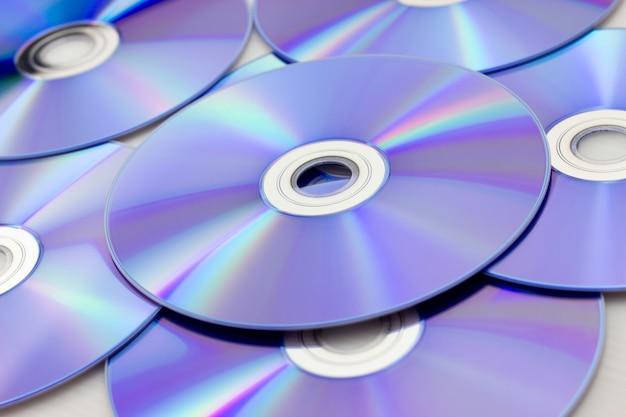 Cdまたはdvdの背景