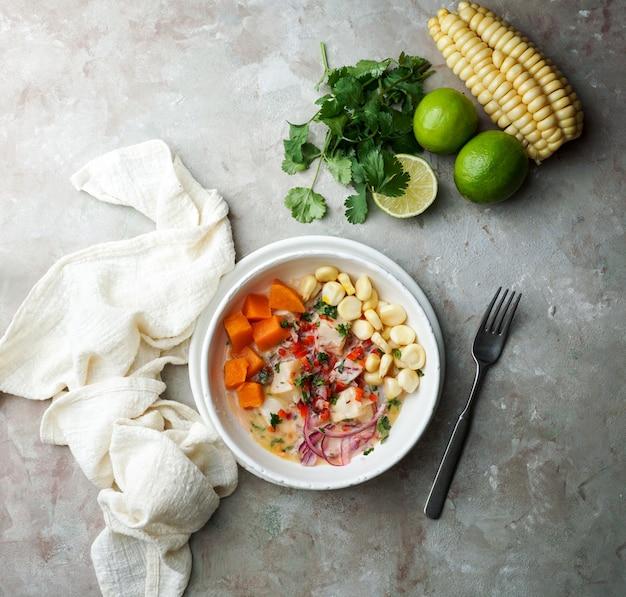 Себиче, севиче, латинская америка, перуанская маринованная рыба