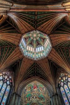 Деталь потолка элиский собор
