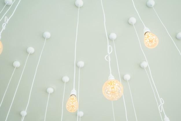 천장 조명 램프
