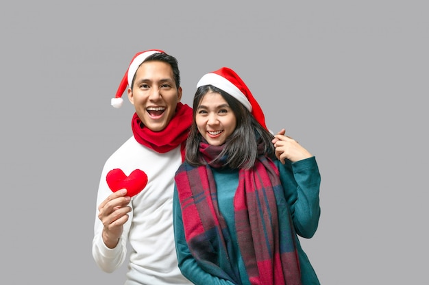 Celebrate christmas and happy new year with love