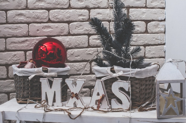 Celebration, christmas, new year, winter time, holiday, decoration, design, decor. art