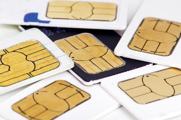 Cell sim cellphone cellular call card
