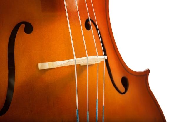 첼로 또는 바이올린 현 클래식 음악