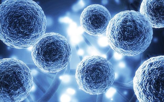 현미경으로 세포