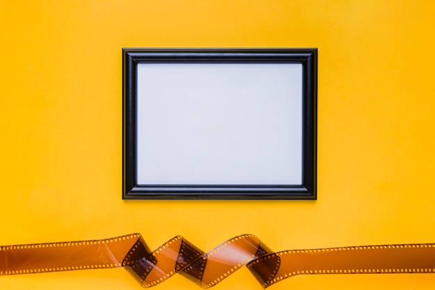 Celluloid with frame
